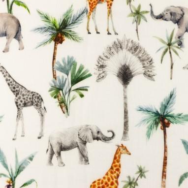 Organic Hydrophilic Cotton giraffe